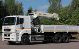КамАЗ-65207 зерновоз с КМУ: технические характеристики, отзывы владельцев