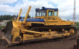 Трактор дэт 250 технические характеристики