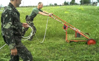 Газонокосилка бензиновая ручная: косилка для травы, как завести триммер, как работает сенокосилка и мотокосилка, устройство травокосилки