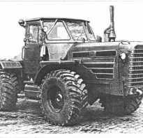 Габариты трактора т 150
