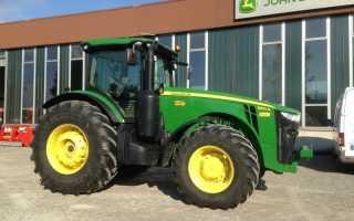 Трактор джон дир 8310 технические характеристики