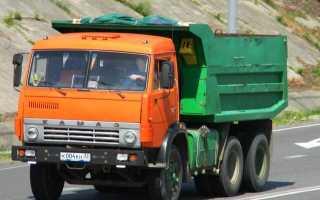 КАМАЗ 5511 с прицепом