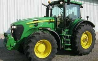 Трактор джон дир 7830 технические характеристики