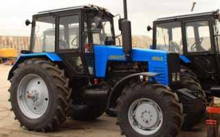 МТЗ-1221 трактор: органы управления и технические характеристики, мощность и схема скоростей, двигатель и тормозная система, давление в шинах