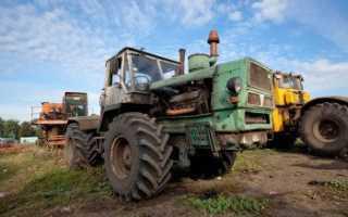 Трактор т 158 технические характеристики