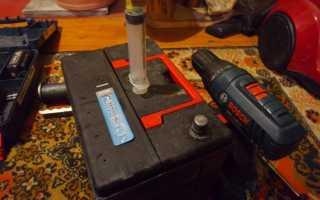 Как восстановить емкость аккумулятора
