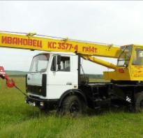 МАЗ-5337: технические характеристики тормозной системы автокрана, где находится номер рамы