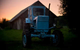 Вес трактора т 40 ам