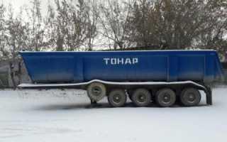 Прицеп тонар 8310 технические характеристики