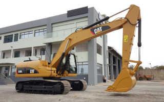 Экскаватор caterpillar 320dl технические характеристики