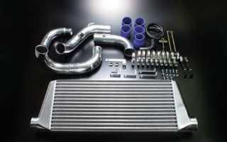 Принцип работы интеркулера дизельного двигателя