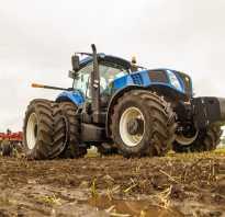 Трактор нью холланд 6050