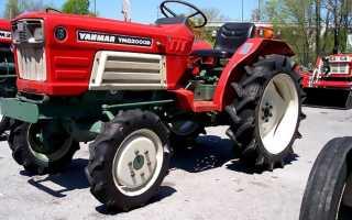 Трактор Янмар (Yanmar) — японский минитрактор Diesel