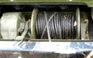 Принцип работы лебедки ГАЗ 66