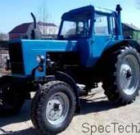 Масса трактора мтз 82