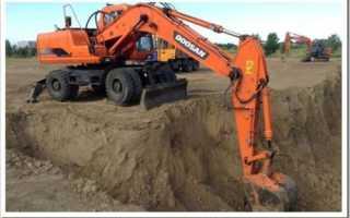 Как правильно копать траншею экскаватором