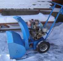 Как из бензопилы сделать снегоуборщик