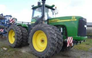 Трактор джон дир 9420 технические характеристики