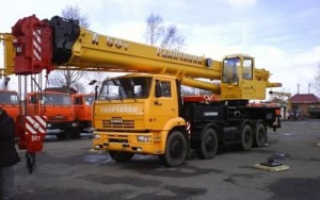 Кран галичанин 50 тонн характеристики
