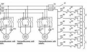 Электрическая схема кран балки с описанием