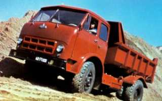 МАЗ-500: технические характеристики самосвала, крана, тягача, бензовоза, расход топлива, грузоподъемность грузового автомобиля