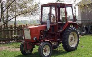 Трактор т 25 с прицепом