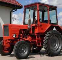 Габариты трактора т 25