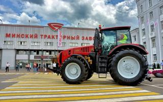 Беларус семейство тракторов