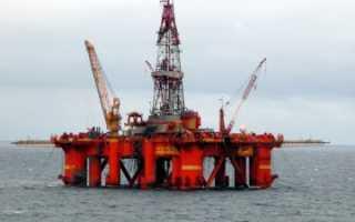 Принцип работы буровой установки по добыче нефти
